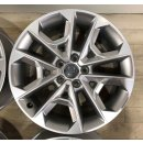 4x Original Audi Q2 81A GA 8x18 Zoll ET45 Felgen 81A601025R Alufelgen