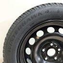 4x Original Audi A3 8Y 7x16 Zoll ET Winterreifen 8V0601027MWF Stahl Reifen 205/55